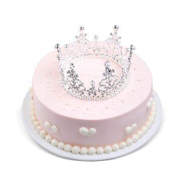 皇冠生日蛋糕预定个性定制创意天使装饰上海广州深圳重庆同城配送