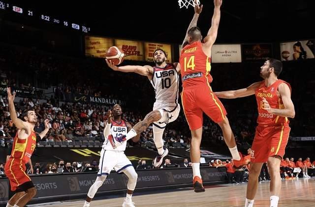 篮球奥运会淘汰赛赛程表