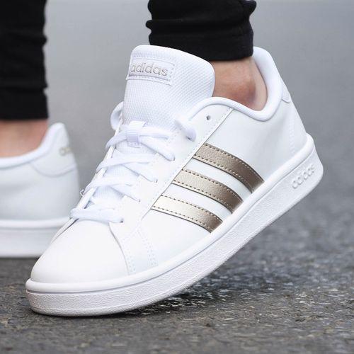 adidas阿迪达斯女鞋板鞋女旗舰正品2021夏季新款运动鞋小白鞋