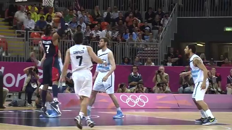 奥运篮球卡特骑扣