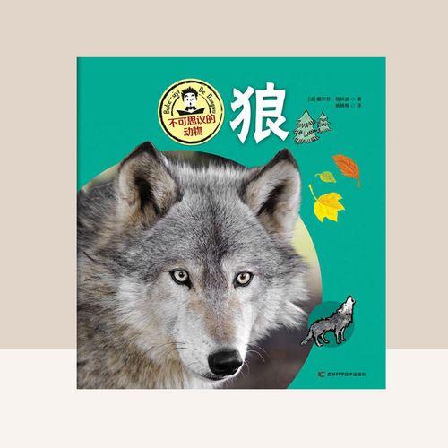 狼 科普百科 儿童绘本 低幼启蒙 动物百科全书 动物世界 狼的生活