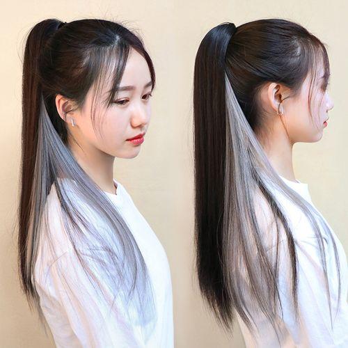 女生头发绑带