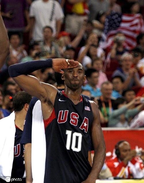 北京奥运会男篮科比生气