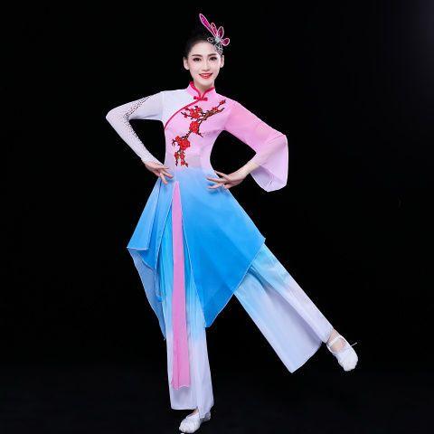 青少年民族舞蹈女生