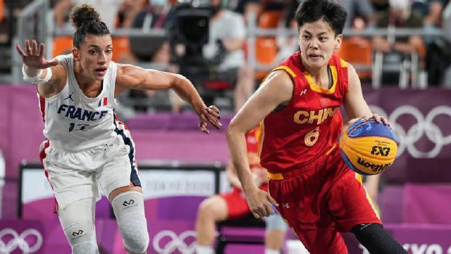 悉尼奥运会篮球中国法国