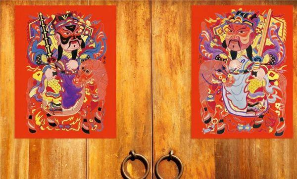 功能的复杂性对门神画艺术风格的影响