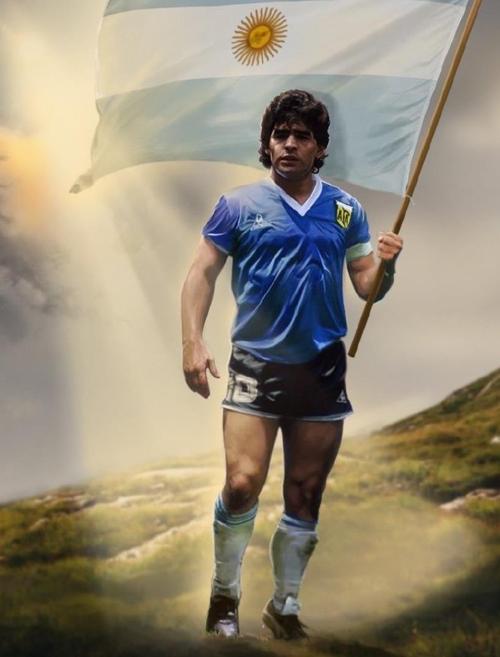 bob体育欧洲杯14大名嘴集体缅怀马拉多纳球王还能过上帝吗