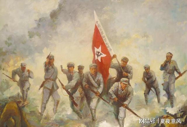 红25军独树镇中西北军埋伏枪栓被风雪冻住拿起大刀冲锋