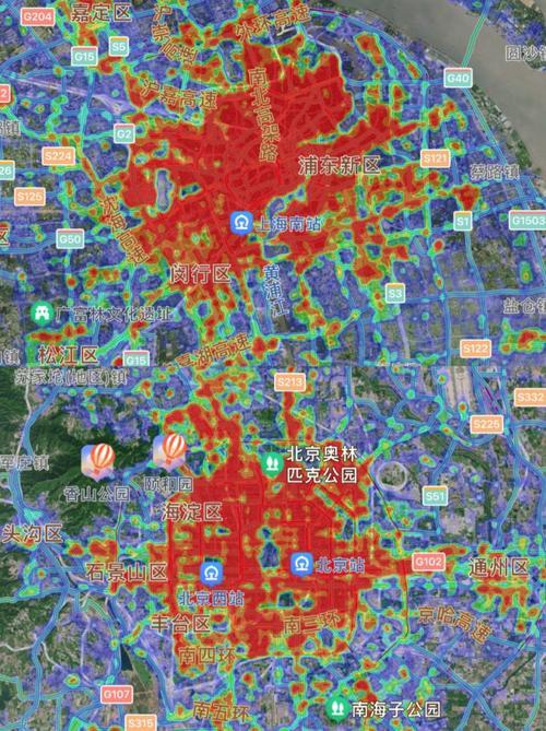为什么北京面积大于上海但是建成区却小于上海