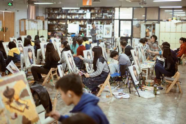 西安十大画室排名西安美术艺考美术培训美术集训的实用经验分享